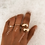 Thumbnail: Lena gold plated ring