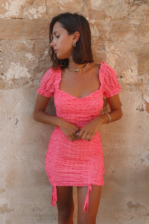 Rolande fuchsia dress