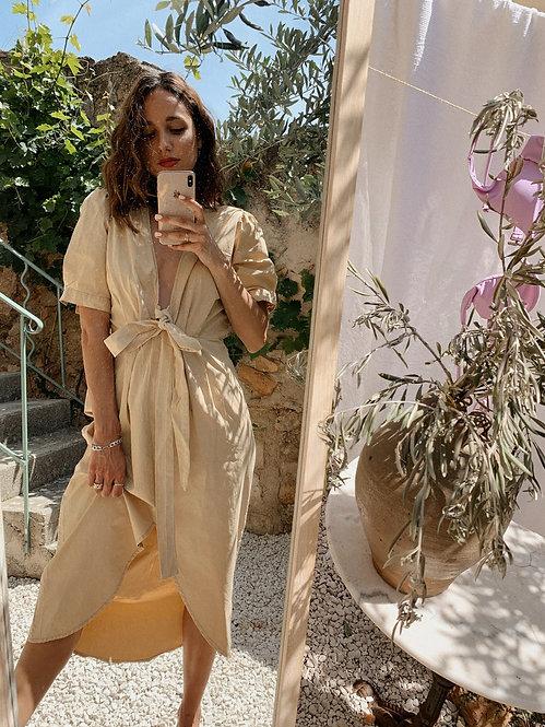 Robe Constance beige