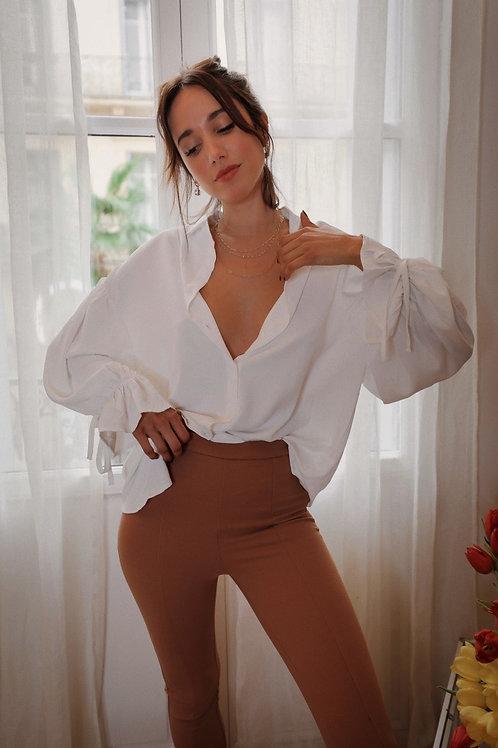 Angeline white shirt