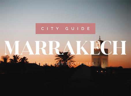 city guide : 6 jours à marrakech
