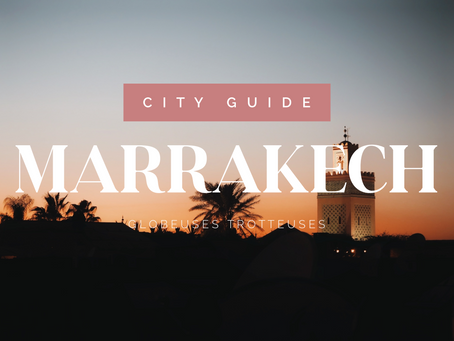 city guide : 6 jours à marrakech