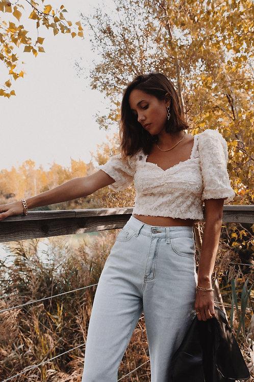 Top Bianca beige