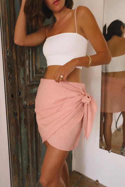 Lucette skirt old pink