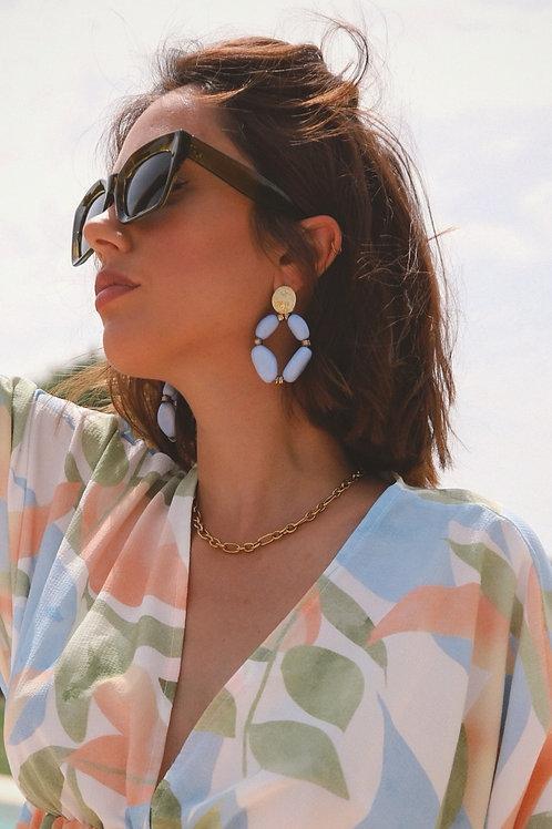 Blue Soller earrings