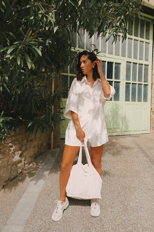 Vivi white playsuit