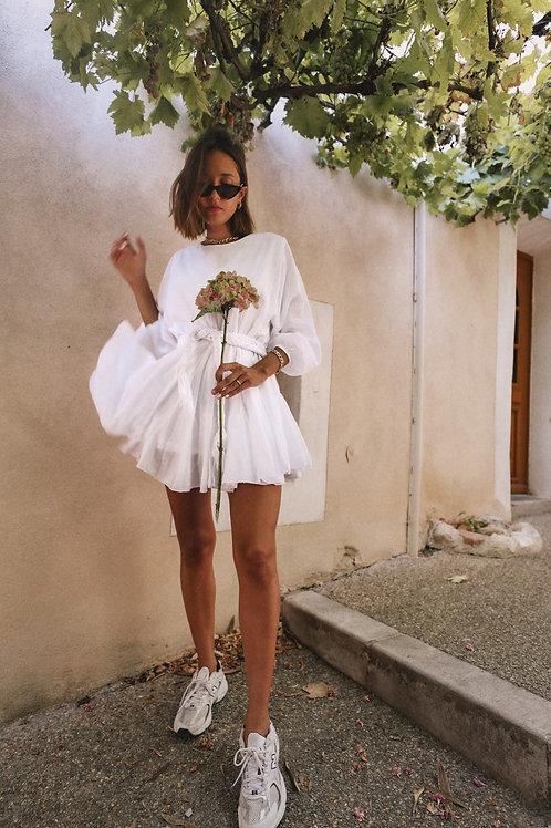 Robe Marcia blanche