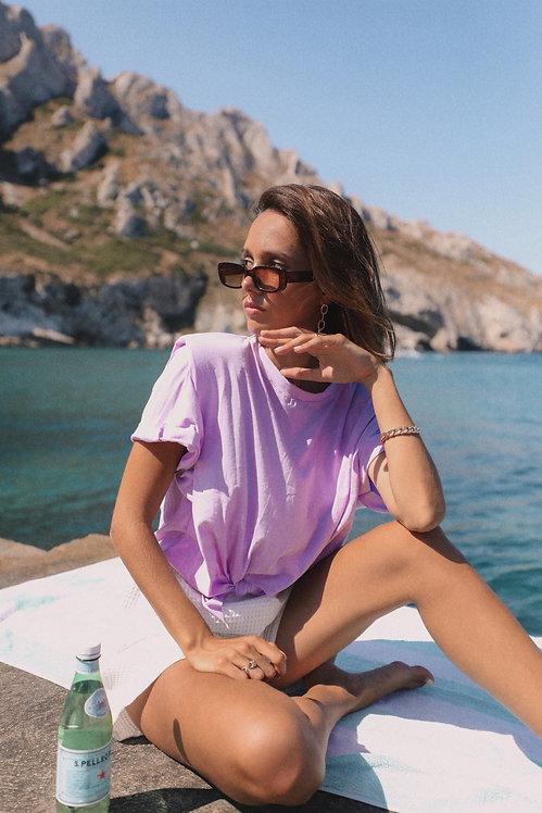 T-shirt Ninon lilas