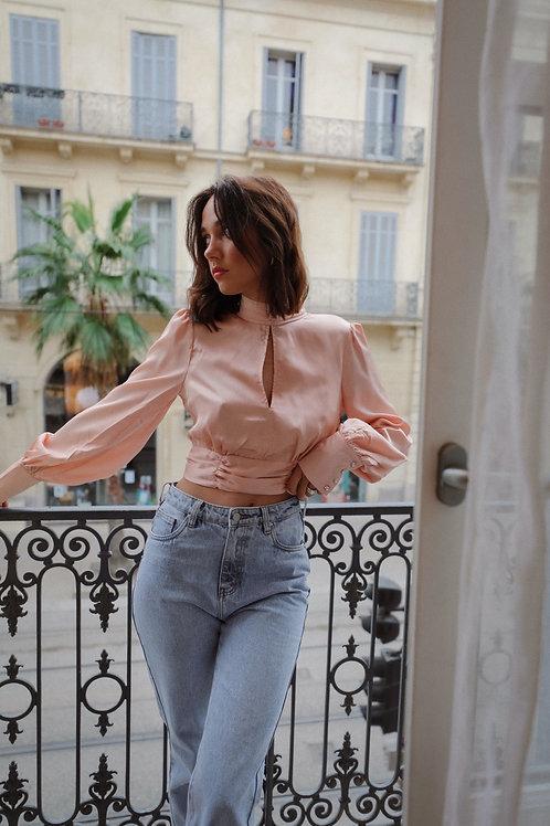 Roma blouse pink