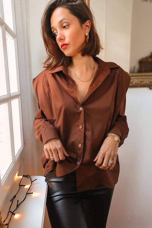 Manuela brown shirt