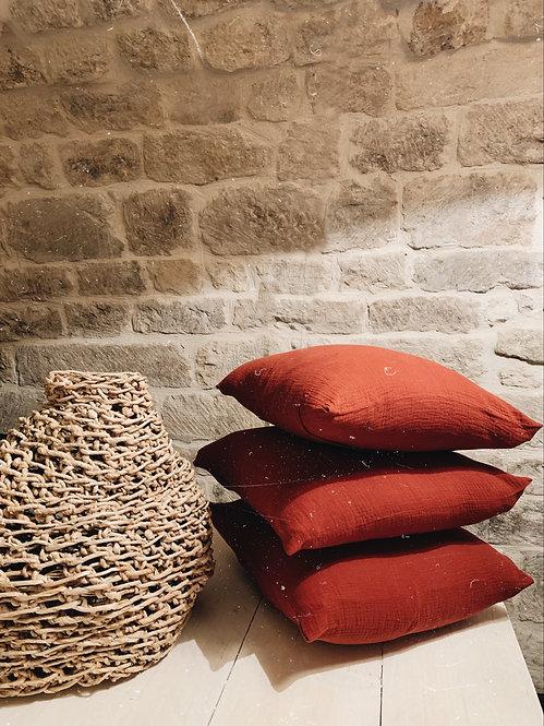 Cushion cover Félicie rust