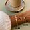 Thumbnail: Bracelet épingle acier doré