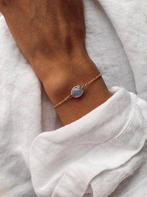Bracelet Miette perle bleue