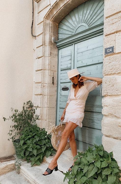 Elisa nude dress