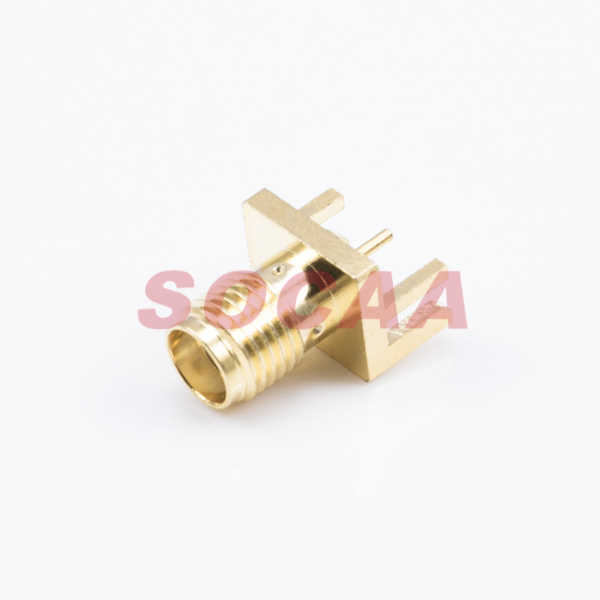 SMA STRAIGHT PCB MOUNT JACK RECEPTACLE