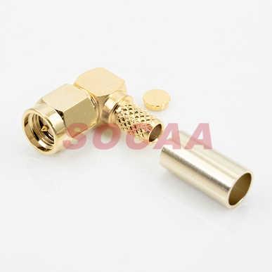 SMA R/A PLUG CRIMP FOR RG-58U CABLE