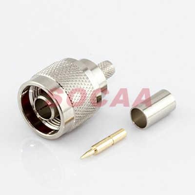 N Straight Plug Crimp For H155