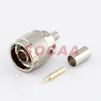 N Straight Plug Crimp For H155