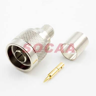 N Straight Plug Crimp For LMR400