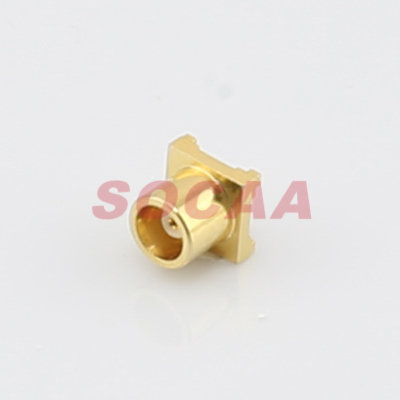 MCX STRAIGHT JACK FOR PCB MOUNT RECEPTACLE