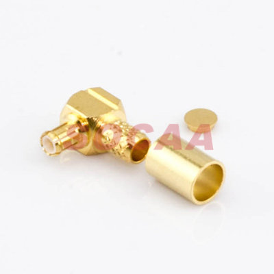 MCX R/A PLUG CRIMP FOR RG-58U