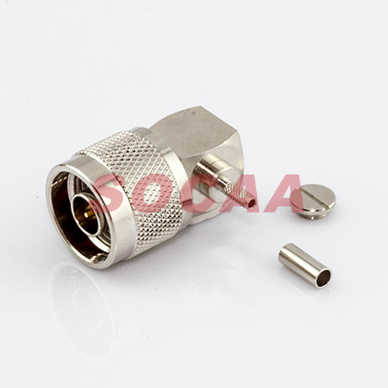 N Plug R/A Crimp for RG-174U