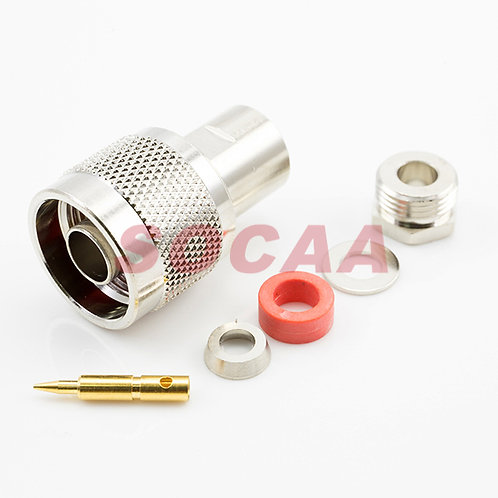 N Straight Plug Clamp for RG-58U
