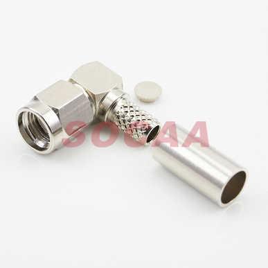 SMA R/A PLUG REVERSE FOR RG-58U CABLE