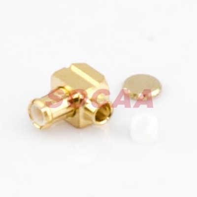 MCX R/A PLUG CRIMP FOR RG-405 CABLE
