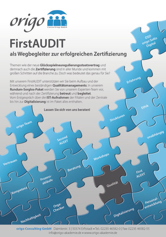 FirstAUDIT - als Wegbegleiter zur erfolg