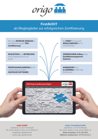 FirstAUDIT - Digital - als Wegbegleiter