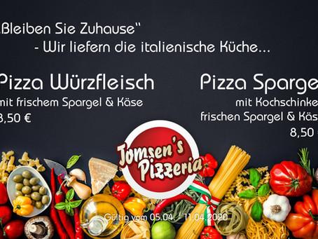 Heut gibt's was auf den Spargel – Wir bringen Ihnen die italienische Küche...