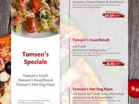 Tomsen's  Speciale ... vom 15.04. - 15.05.2021