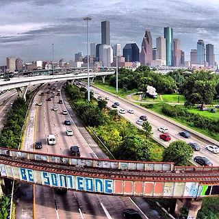 Be Someone Houston Bridge