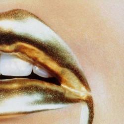 Melting Golden Lips