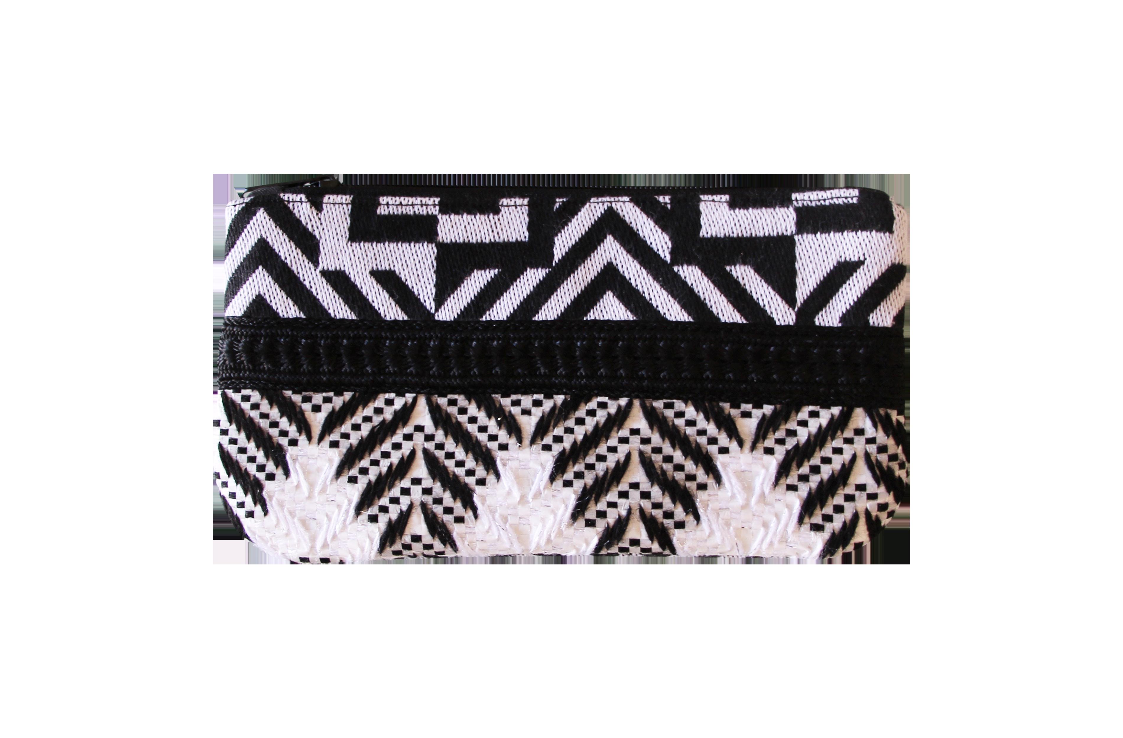 wallet geo noir