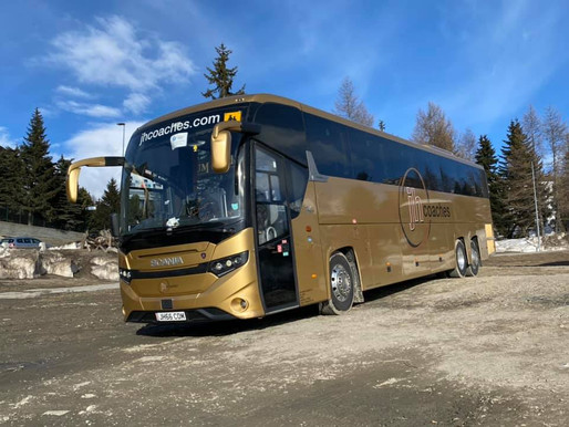 JH & Thirlwells Coaches return from tour