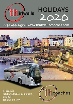 THIRLWELLS 2020 HOLIDAY BROCHURE FRONT C