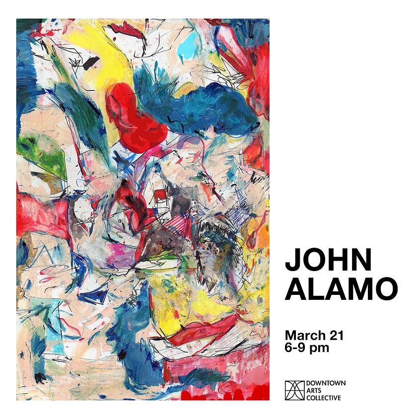 JOHN ALAMO Solo Exhibition