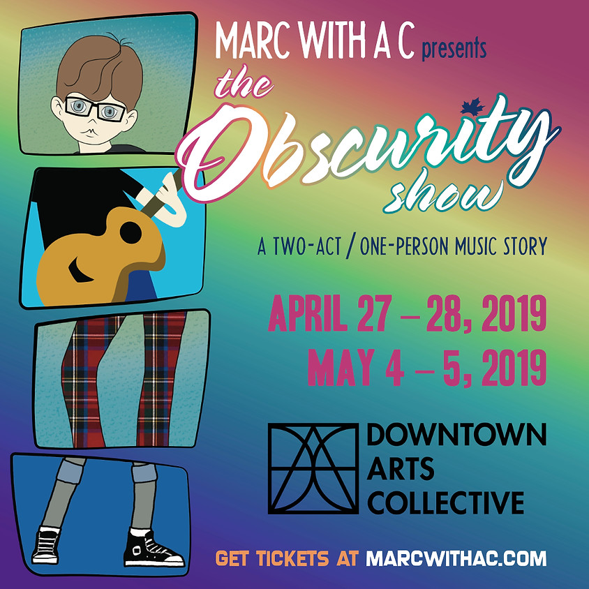 """Marc with a C presents """"The Obscurity Show""""!"""