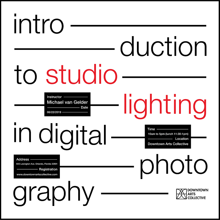 Intro to Studio Lighting in Digital Photography