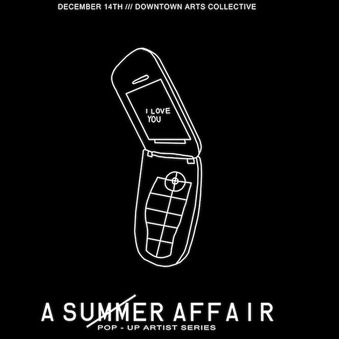 A SUMMER AFFAIR Pop-Up Artist Series