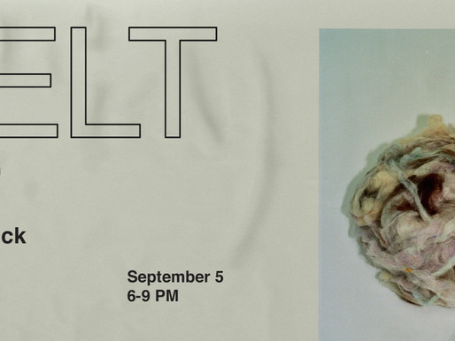 FELT Solo Exhibition by Haley McCormick opens September 5