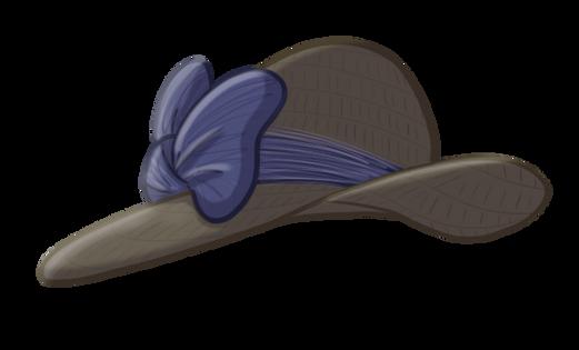 straw church hat