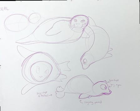 Rough seal designs