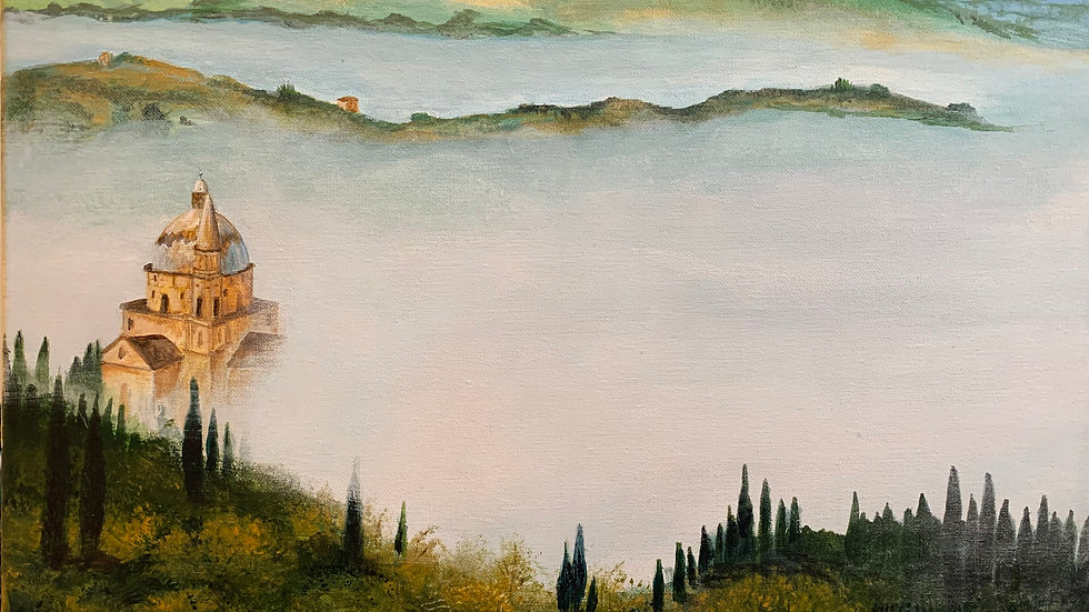 Morning Fog in Italy