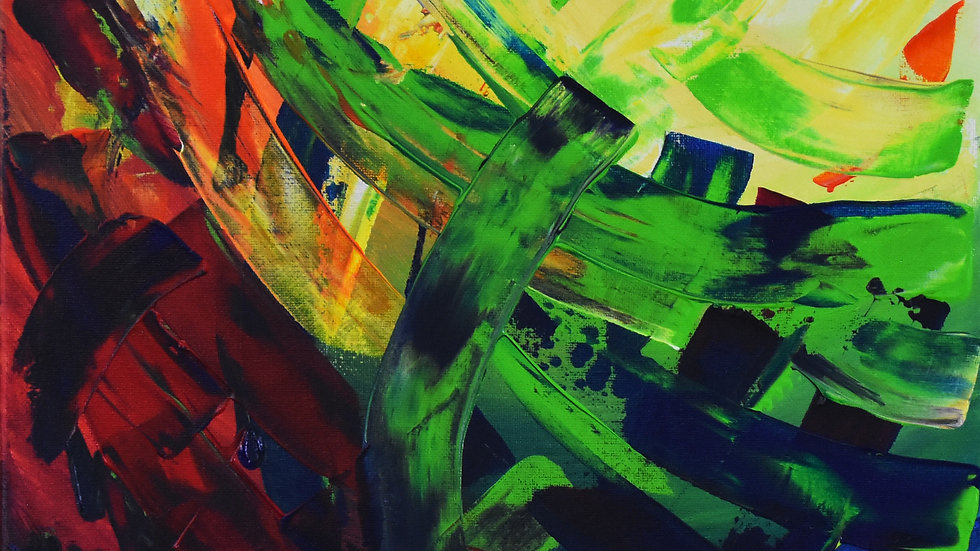 Primary Colors Abstract