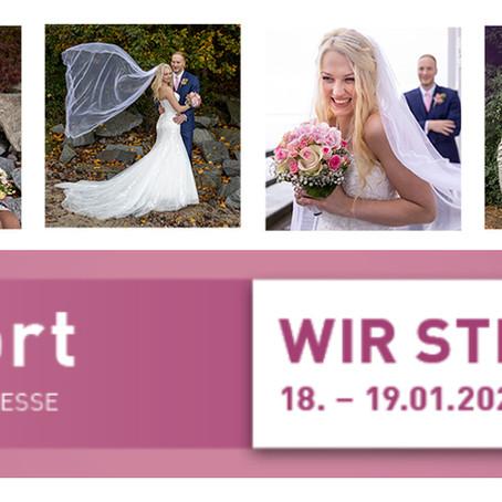 Hochzeitsmesse JAwort 2020 in Dresden 18.-19.01.2020