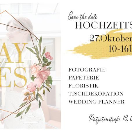 """Hochzeitsmesse """"Say Yes"""" in Dresden-Kleinzschachwitz am 27.10.2019  10-16 Uhr"""
