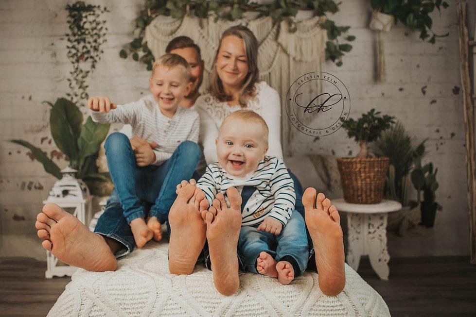 Authentische Familienbilder Verschenken